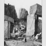 Estudio-Necropolis-010 - Dibujo y tinta sobre papel 27cm X 32cm