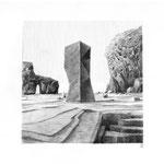 Estudio-Necropolis-013 - Dibujo sobre papel 27cm X 35cm