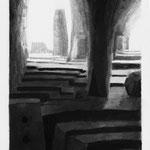 Estudio-Necropolis-019 - Dibujo y tinta sobre papel 45cm X 29cm