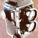 """""""Estudio Camara 01"""" Impresion Digital 100cm X 70cm"""