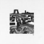 Estudio-Necropolis-07 - Dibujo sobre papel 27cm X 27cm
