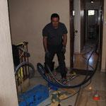 M.LEGRAND Michel en action à l'étage