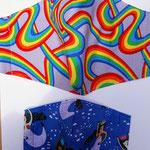 Adult Rainbow Ribbon and Kid Mermaids