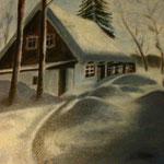 Winter in het Adelaarsgebergte.
