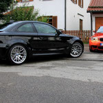 BMW 1er M Coupe Putztreffen