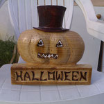 Décoration d'Halloween gift ideas wood sculpture