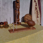 Ballon de Rugby gift ideas wood sculpture