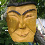 """Peyo"" gift ideas wood sculpture"