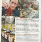 Article dans le magazine le Vif l'Express et Knack
