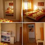 Fotomontage Panorama-Schlafzimmer 4-Ansichten
