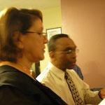 Dr. Sostre y Raquel nos obsequian con alabanzas especiales