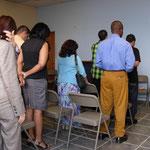 Grupo de Pasotres oramos por la la Misión Pastoral