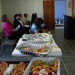 Pastores comparten en un desayuno pastoral.  3 enero/2010