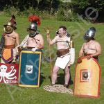 Les différentes types de gladiateurs.