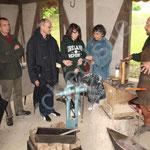 Christian le forgeron donne moults détails sur la métallurgie du premier millénaire