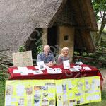 Alain et Sabine Facqueur présentent leurs ouvrages sur Aldric le Mérovingien