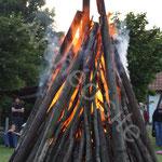 Un superbe feu cette année...