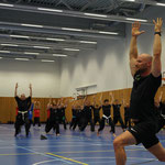 Yoga auf der Warrior Magazin Hall of Fame, Groningen/NL
