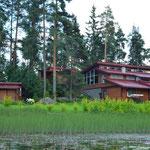 Гостевые дома на Вуоксе в районе Мельниково