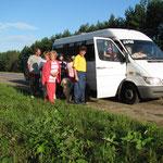 Из Сарова в Килемары забрасывались микроавтобусом с прицепом