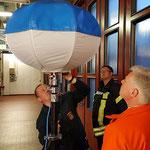 Testen des Power Moon © Freiwillige Feuerwehr Cuxhaven-Duhnen