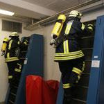 15 m an der Endlosleiter © Freiwillige Feuerwehr Cuxhaven-Duhnen