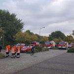 Sammeln am Kreishaus © FF. Duhnen