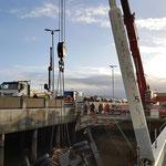 Der Kran wird geborgen © FF.Cuxhaven-Duhnen