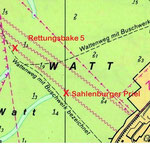 Sahlenburger Watt / © Freiwillige Feuerwehr Cuxhaven-Duhnen