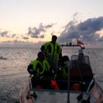 Rückkehr nach Einsatzabbruch / © Freiwillige Feuerwehr Cuxhaven-Duhnen