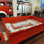 Die Pritsche ist vom Aufbausanierer aus Bremerhaven zurück © FF.Cuxhaven-Duhnen