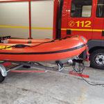 Das Ersatzboot der NHC © Freiwillige Feuerwehr Cuxhaven-Duhnen
