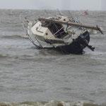 Das Segelboot am Duhner Strand © FF-Duhnen