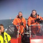 Entlang des Weser - Elbe Wattfahrwasser © Freiwillige Feuerwehr Cuxhaven-Duhnen