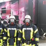 Vor der Übung in voller Ausrüstung © Freiwillige Feuerwehr Cuxhaven-Duhnen