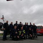 Lehrgangsteilnehmer FF Duhnen und BF Cuxhaven © Freiwillige Feuerwehr Cuxhaven-Duhnen