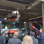 Löscharm und Piercing-Dorn © Freiwillige Feuerwehr Cuxhaven-Duhnen