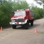 ... und steht © Freiwillige Feuerwehr Cuxhaven-Duhnen