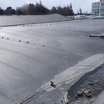 die gelöste Dachhaut © FF-Duhnen