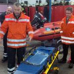 Diese ist an mehreren Stellen verstellbar © Freiwillige Feuerwehr Cuxhaven-Duhnen