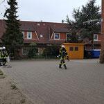 Angriffstrupp vor © Freiwillige Feuerwehr Cuxhaven-Duhnen