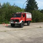 Einparken © Freiwillige Feuerwehr Cuxhaven-Duhnen
