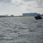 RTB Cuxhaven auf der Elbe vor Altenbruch © FF.Cuxhaven-Duhnen