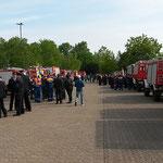 Zahlreiche Wehren waren angetreten © Freiwillige Feuerwehr Cuxhaven-Duhnen