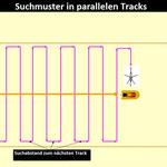 Suchmuster in  Paralleltracks© FF-Duhnen