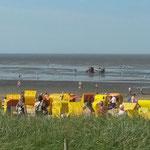 Auf dem Weg zur Rettungsbake 5 © Freiwillige Feuerwehr Cuxhaven-Duhnen