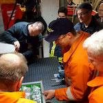 Die ausziehbare Werkbank © Freiwillige Feuerwehr Cuxhaven-Duhnen