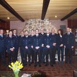 Die Beförderten Mitglieder © Freiwillige Feuerwehr Cuxhaven-Duhnen