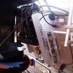 Mit dem Powerlift kann der Motor zusätzlich noch ca 25 cm nach oben gefahren werden. Dies verbessert die Fahrverhältnisse grade im Flachwasserbereich erheblich / © Freiwillige Feuerwehr Cuxhaven-Duhnen