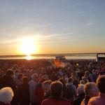 Viele Besucher waren am Strand © FF. Duhnen